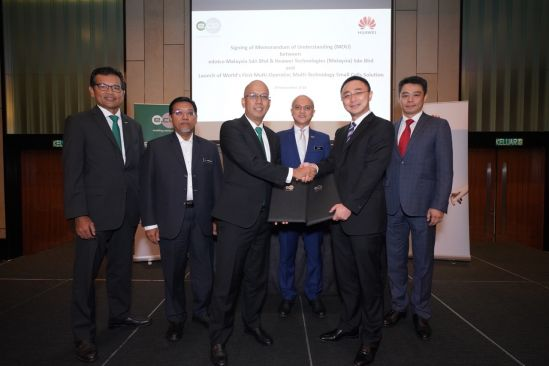 edotco and Huawei sign MoU; take world's first multi-technology Small Cells LIVE