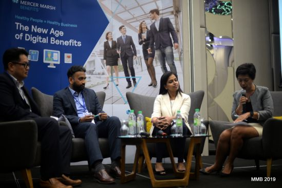From left: Daniel Lai, Total Rewards, APAC&EIA Amway Business Service Asia Pacific; Anurag Patnaik, Head Rewards Centre of Competence for Asia of Nestle Malaysia; Thamayenthi Narayan, Associate Director of DKSH Malaysia Sdn Bhd; and Joan Collar, MMB Asia Regional Leader