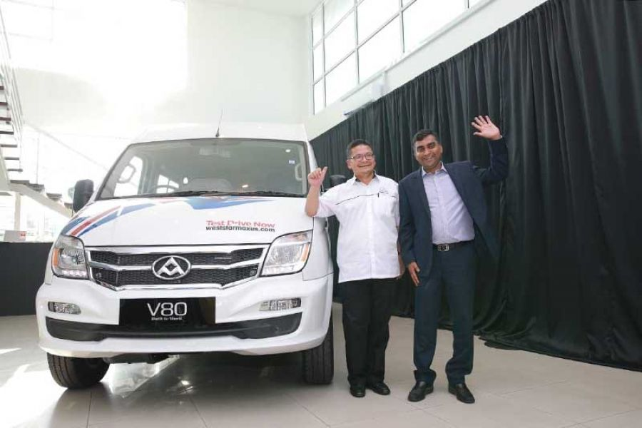 Weststar Maxus' Northern Exposure and the Unveiling of its New V80 Commercial Van