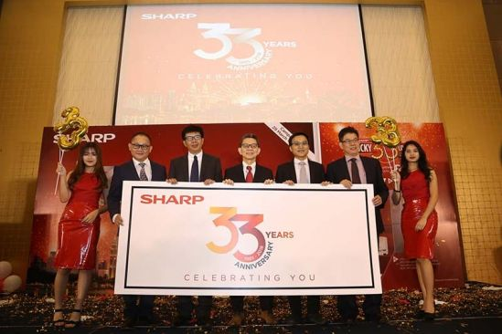 Sharp Malaysia Celebrates 33rd Anniversary Campaign By Giving 33% Discounts on Selected Items