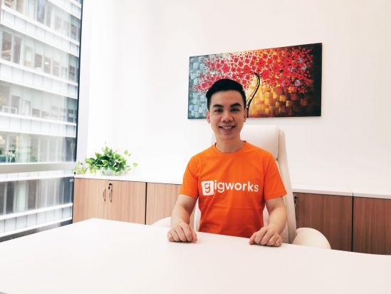 Glenn Tay, Chief Executive Officer and Founder of Gigworks