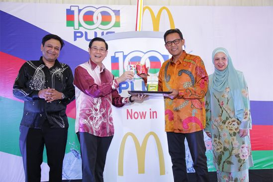 F&N and McDonald's Malaysia Ink Partnership To Serve 100PLUS