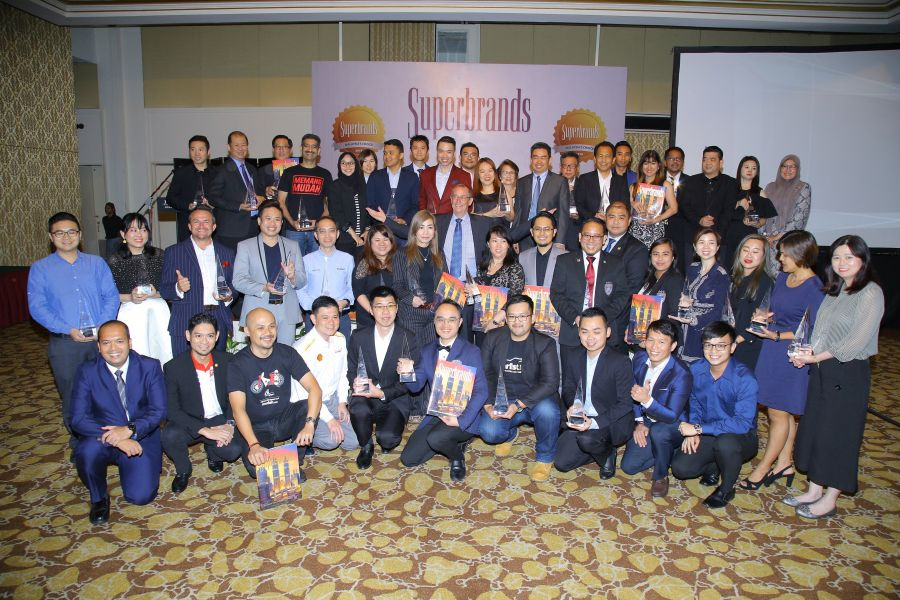 Superbrands Malaysia 2018 Honours Key Global MNCs and Top Local Companies