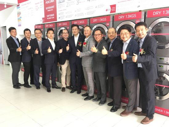 LG Electronics Malaysia and Cleanpro Laundry Launch Commercial Laundry Concept Store