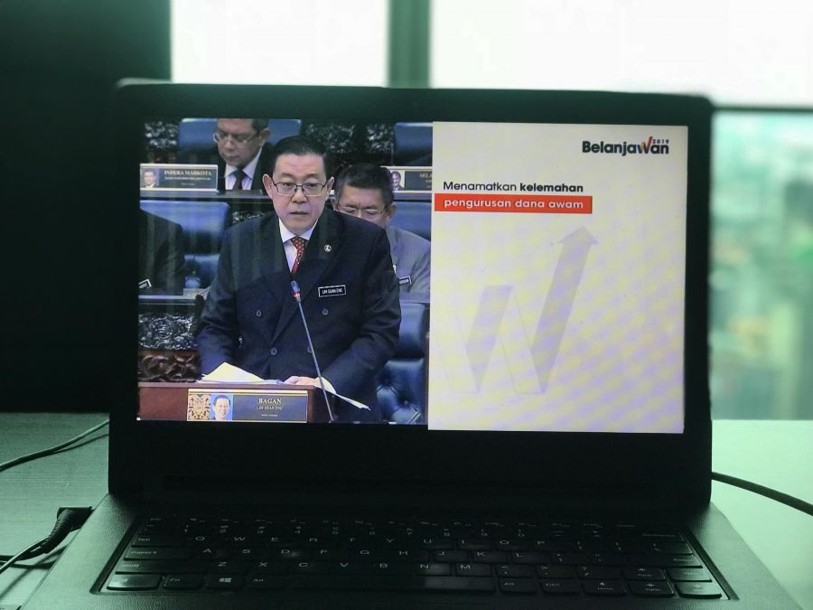 Pakatan Harapan Tables Budget 2019