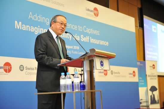 "Danial Mah Abdullah, Director General of Labuan FSA said Labuan IBFC remains the leading jurisdiction in the captives segment for Asia Pacific at the ""Adding Confidence to Captives: Managing Volatility via Self Insurance"" conference by Labuan IBFC and Swiss Re Corporate Solutions today."