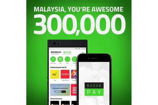 Razer Pay gains 300,000 users in Malaysia within 48 hours