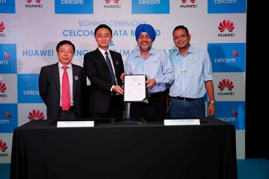 Celcom Partners Huawei To Apply Cloud-Based Platform for A Digitised Network Operation