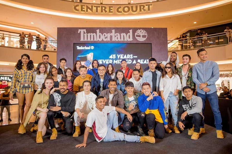 Timberland celebrates their 45th anniversary