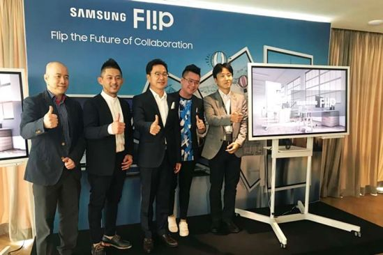 Samsung launched a digital flipchart in Malaysia