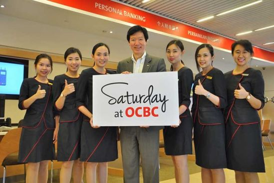 Six OCBC Branches in The Klang Valley to Open On Saturdays Beginning Tomorrow