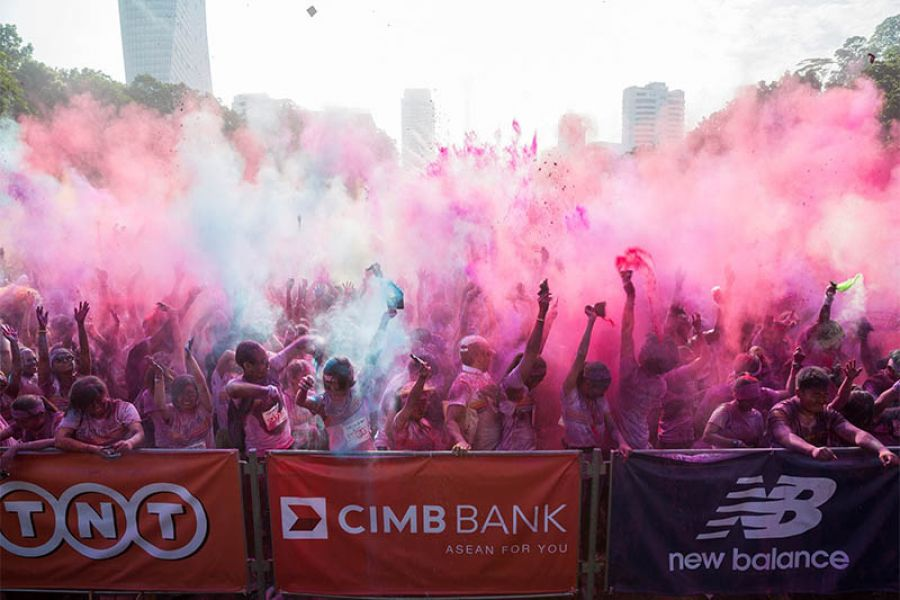 CIMB-Sponsored Color Run At Three Asean Cities To Attract 35,000 Runners