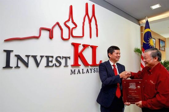 InvestKL - One of the Asia Pacific Regional Top Investment Promotion Agencies 2017
