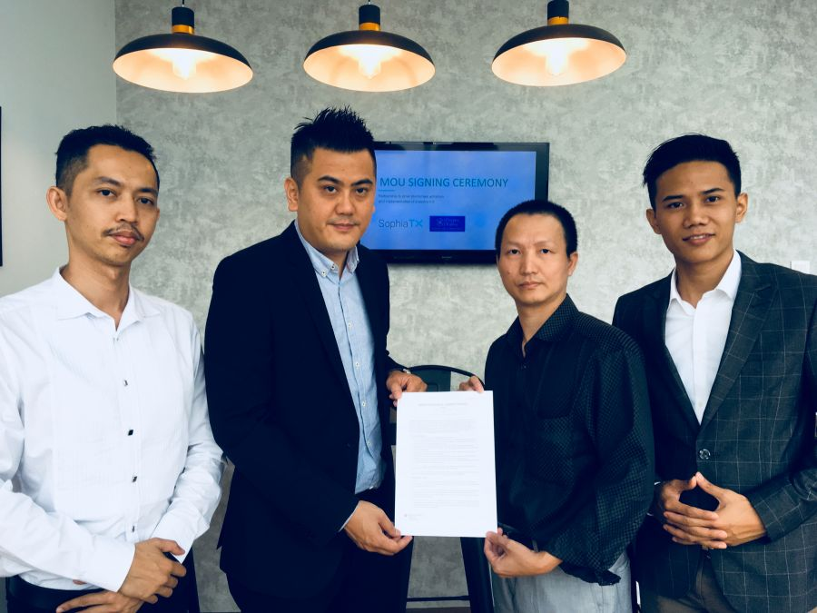 SophiaTX and Crypto Valley Malaysia Inks Pact
