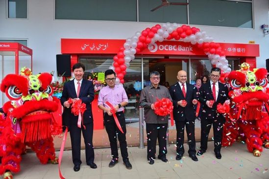 OCBC Rawang Branch Declared Officially Open by Selayang Member of Parliament