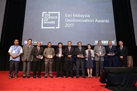 Petronas, DBKK, DBKL Receive Prestigious Geoinnovation Award