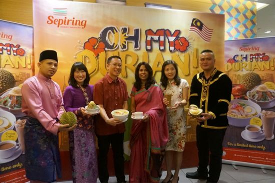 Sepiring Celebrates Malaysia's 60th Birthday with the King of Fruits