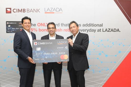 Online Approval for New CIMB Lazada Prepaid Mastercard