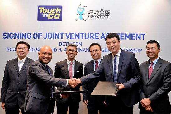 Touch 'n Go and Ant Financial to Promote Innovative & Digital Financial Services in Malaysia