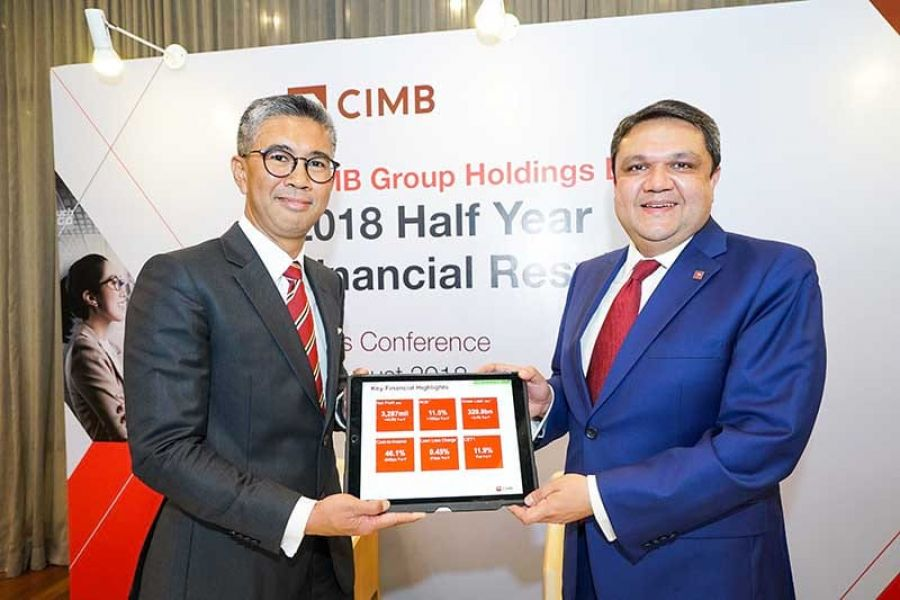 CIMB Group Chalks a Record RM3.29 billion 1H18 Net Profit