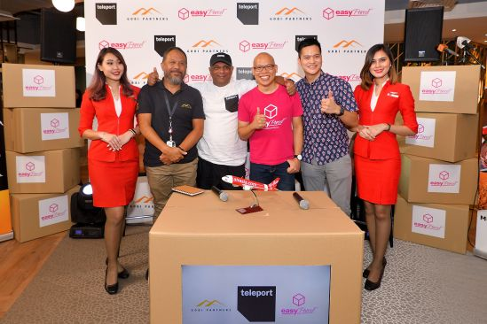 Teleport and Gobi invest US$10.6M in EasyParcel to grow social and e-commerce across Asean