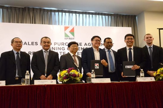 KIP REIT Inks S&P Agreement with Kinta City Sdn Bhd