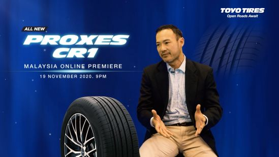 Toyo Tires launches All-New Proxes CR1 into Malaysian Market