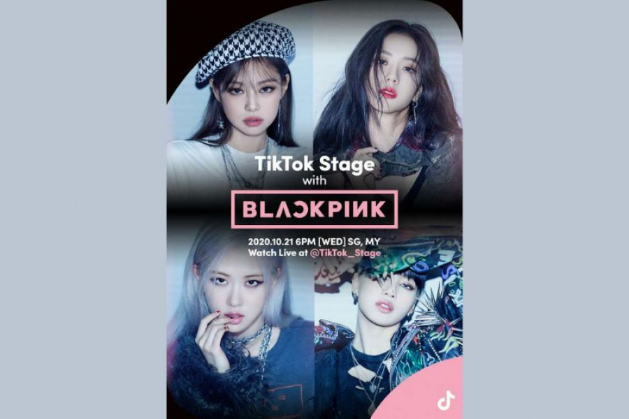 BLACKPINK is going to be Live in Your Area on TikTok Stage!