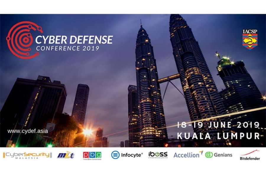 The 2019 ASEAN Cyber Defense Conference, Kuala Lumpur: Shaping the Cybersecurity Industry Together.