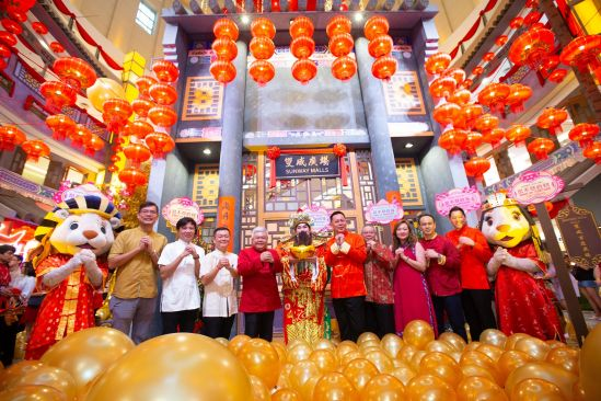 Revel in The Bank of Blessings This Lunar New Year at Sunway Malls