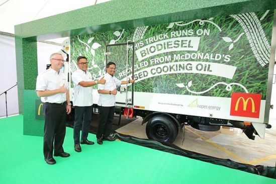 McDonald's Malaysia Commits to Long Term Sustainability Efforts